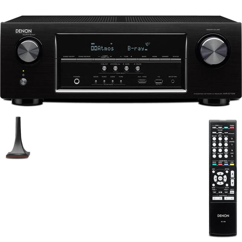 Denon home theater receiver AVR-S710W $269 + FS at Fry's w/ promo code