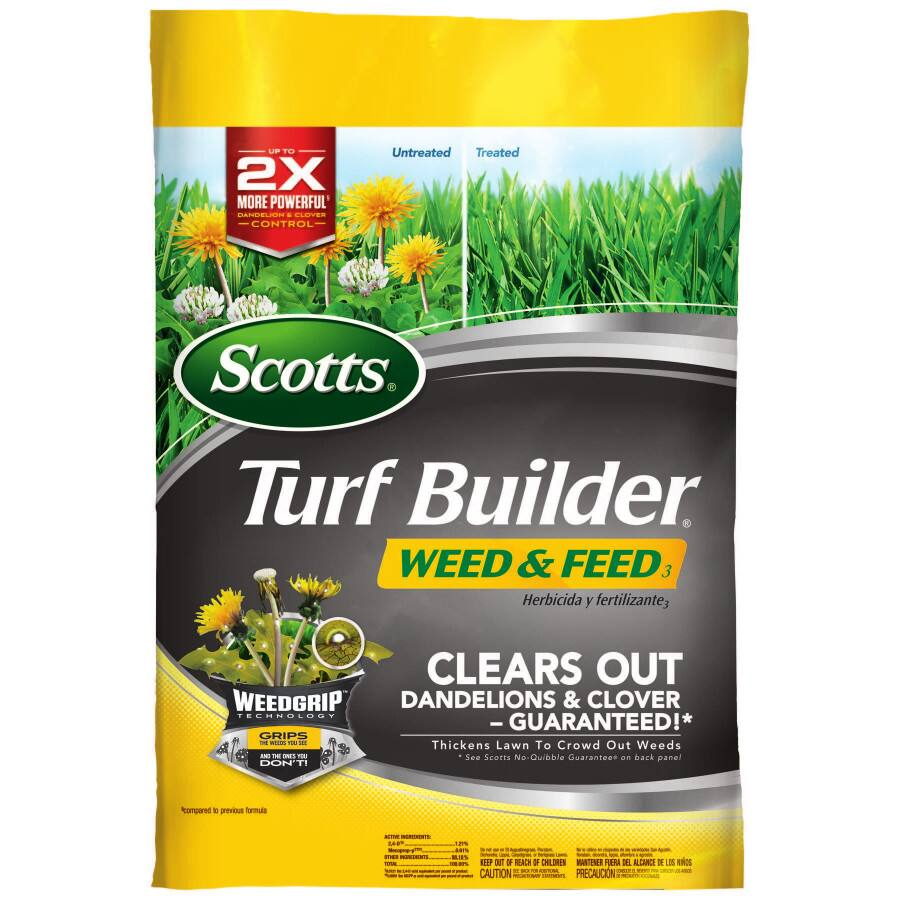 Scotts Turf Builder Weed & Feed 15,000 sq. feet - $13 Walmart ymmv