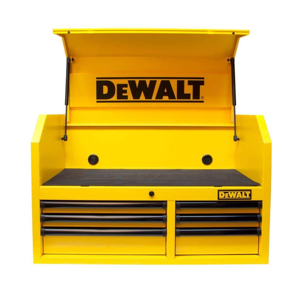 DEWALT 36 in  6-Drawer Tool Chest, Yellow $74 @ Home Depot, Instore