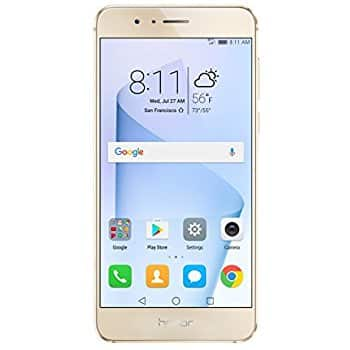 Huawei Honor 8 Unlocked Smartphone 64 GB Dual Camera - US Warranty (Sunrise Gold) $279.99