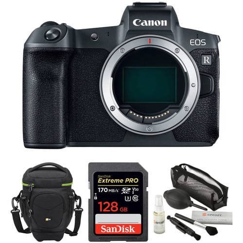 Canon EOS R Mirrorless Digital Camera Body with Accessories Kit $1599