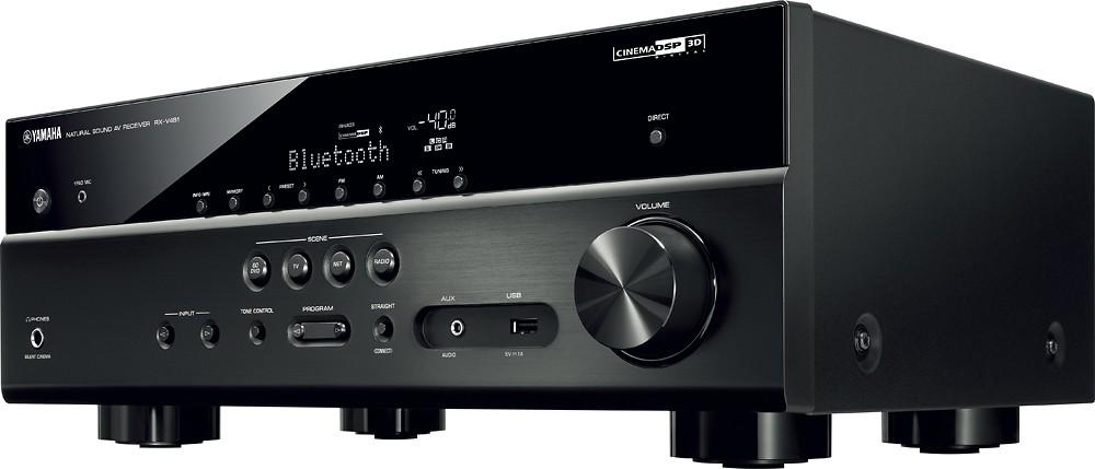 Yamaha - 725W 5.1-Ch. Receiver RX-V481BL $319.99