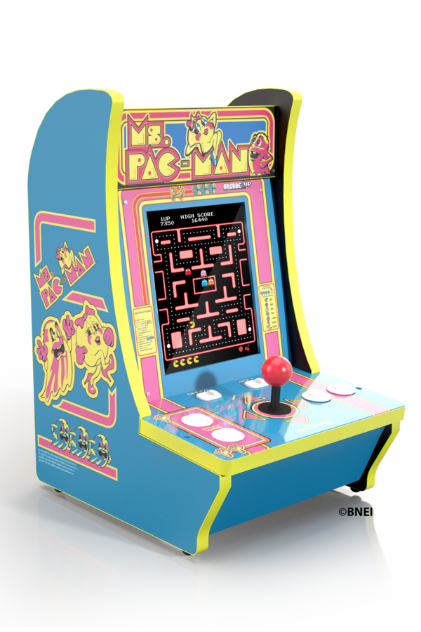 Arcade1Up Countercade Tabletop Home Arcade Machine [Ms. Pac-man, Pac-man or Frogger] $125.22