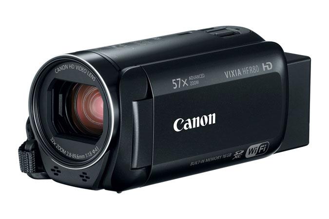 Canon VIXIA HF R80 16GB Camcorder (Refurbished) $139 + FS