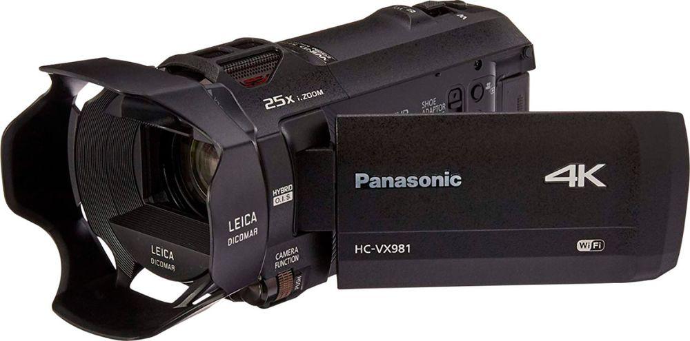 Open-Box Excellent: Panasonic - HC-VX870K 4K Camcorder $449.99 +FS @ Best Buy on Ebay