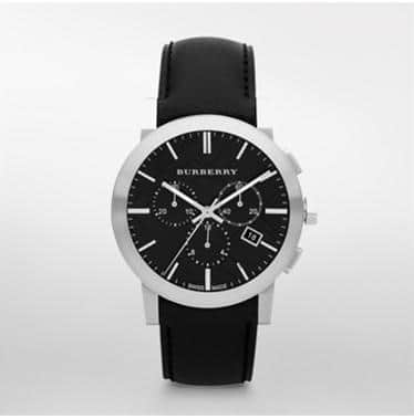 Burberry Men's Watch 70% off with code CYBER40 + Free Shipping. $179.98