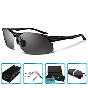 ec59f24db4b COSVER 8003 Men s Sports Style Polarized Sunglasses for  11.99 AC on Amazon  free prime shipping