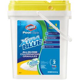 Clorox Pool&Spa XtraBlue All-in-One 40-lb Granular Pool Chlorine (YMMV) $29.75