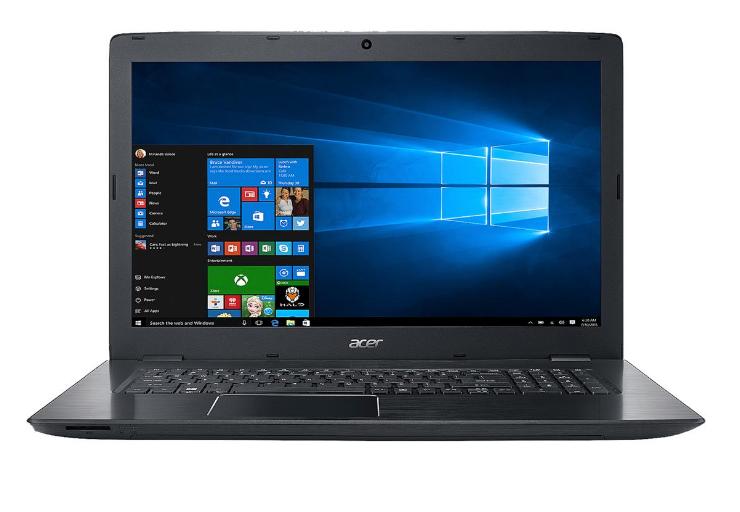 "Acer Aspire E5-774G-56SX 17.3"" Intel Core i5 7th Gen 7200U (2.50 GHz) NVIDIA GeForce GTX 950M 8 GB DDR4 Memory 256 GB SSD 1 TB HDD Windows 10 Home 64-Bit Gaming Laptop $649"