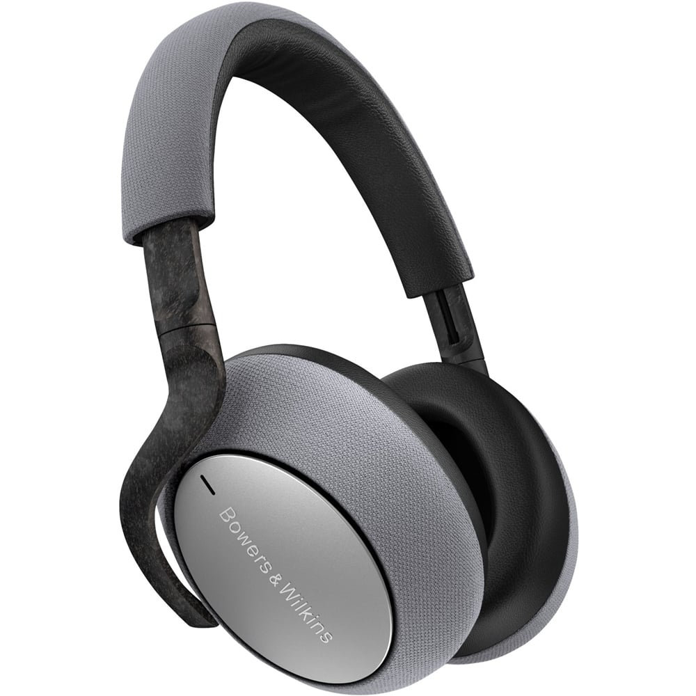 Bowers & Wilkins - PX7 Wireless Noise Cancelling Over-the-Ear Headphones - Silver/Grey $75 OFF $324.99
