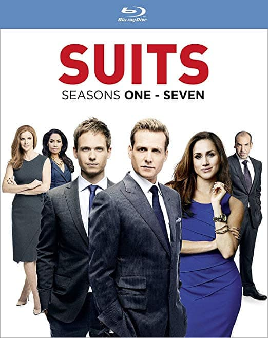 Suits seasons 1-7, Blu ray and region free $34.54