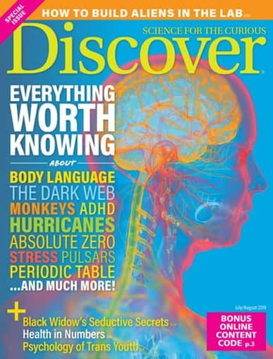 Discover Magazine: 1 Year, 8 Issues + Free Shipping