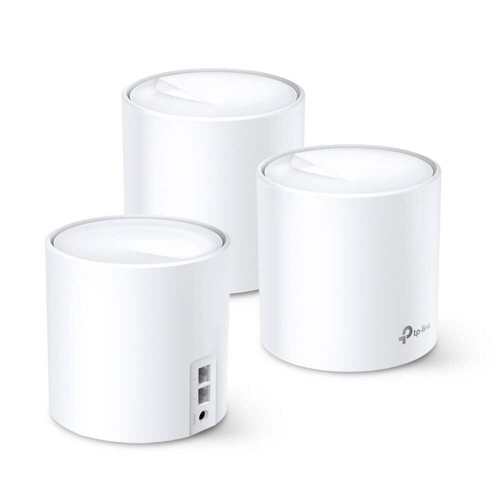 3-Pack TP-Link Deco WiFi 6 Mesh WiFi System (Refurb, Deco X60) $168 + Free Shipping