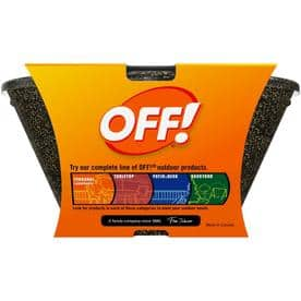 Off! 3-Wick Metal Tabletop Citronella Candle         $ 1.59    YMMV $1.59