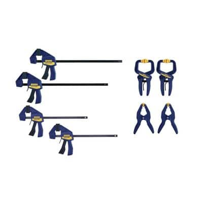 IRWIN QUICK-GRIP 8-Pack Assorted Clamp      YMMV    $ 14.98  SHIPPING 2 HOME!!
