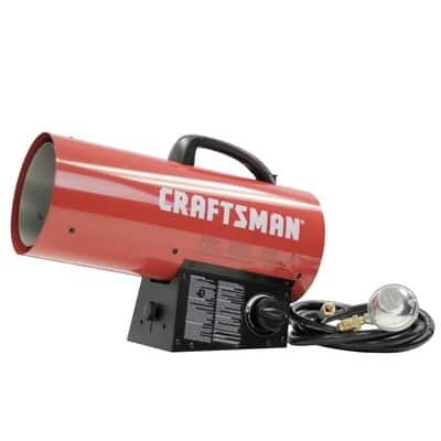 CRAFTSMAN 60000-BTU Portable Forced Air Propane Heater .... . $ 49.50 .... YMMV