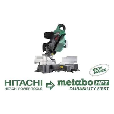 Metabo HPT (was Hitachi Power Tools) 12-in-Amp Dual Bevel Bevel Sliding Compound Miter Saw  ..... YMMV ... $329