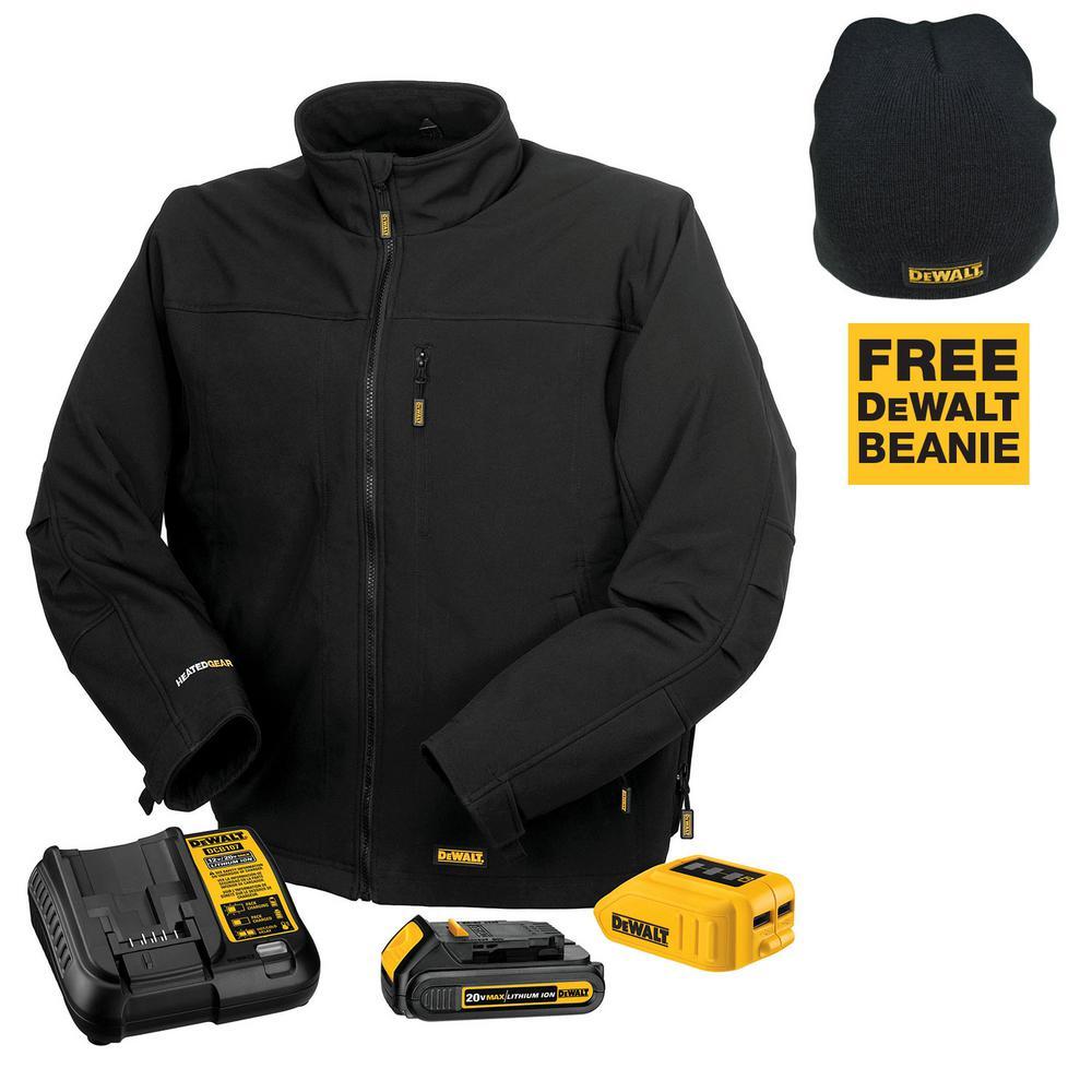 **BACK AGAIN** Dewalt Heated Work Jacket w/ 20-Volt Lithium-Ion Battery & Charger $139