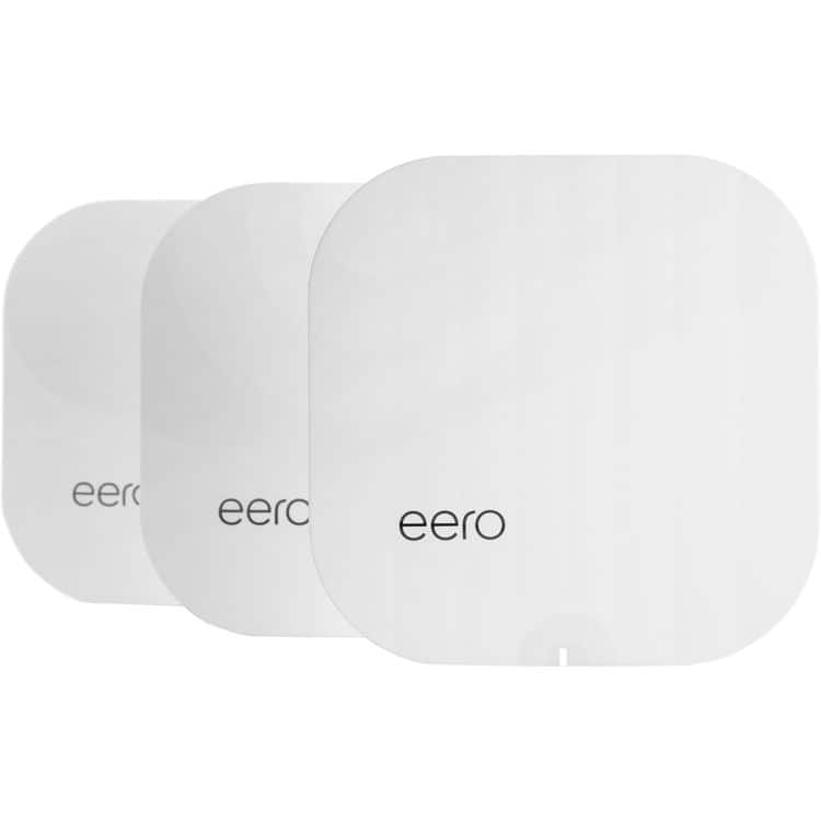 B&H Photo Video offers the Eero TrueMesh Home 802.11ac Wireless System 3-Pack in White for $229.95 with free shipping