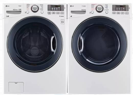 LG WM3770HWA + DLEX3570W Washer/Dryer Combo, Free Shipping $1530