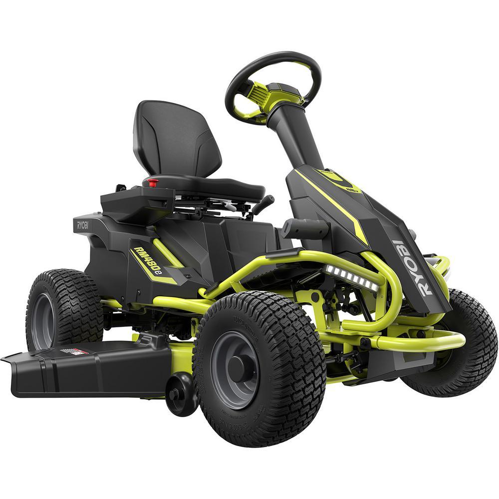YMMV Home Depot - $1,499 - Ryobi RM480E 38in. 75ah Electric Riding Mower