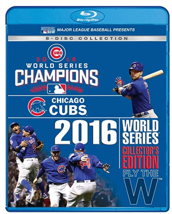 Chicago Cubs 2016 World Series Collector's Edition Blu-ray | Box Set $28.99 at Amazon (Prime members Only)