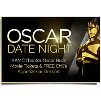 MySpoonfuls Deal: $10 Oscar Date Night -  2 Movie Tickets + Free Appetizer or Dessert at Chili's at Myspoonfuls