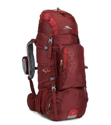 $60 High Sierra Tech 2 Series Titan 55 Internal Frame Backpack