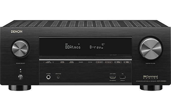 Denon AVR-X3500H Receiver $549 [Amazon]