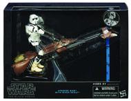 Star Wars Black 6 inch Speederbike Trooper, Han Solo & Tauntan $20 each at Gamestop