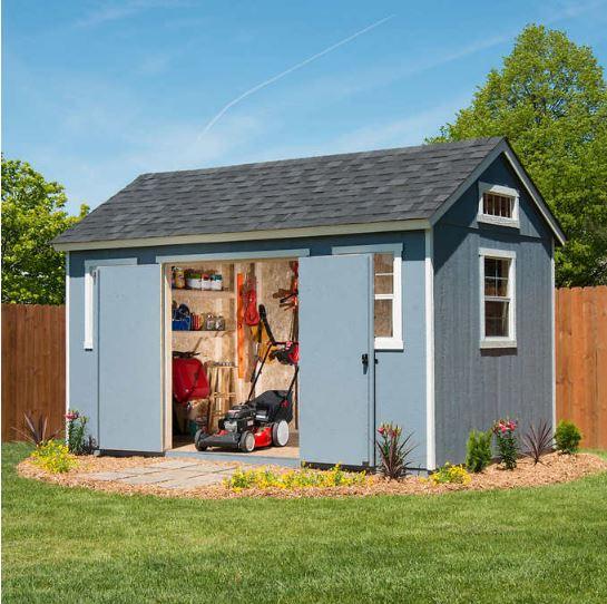 Costco Berkdale 14' x 8' Wood Shed $1600