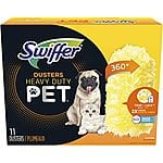 Swiffer 360 Dusters Multi Surface Pet Refills, Ceiling Fan Duster, Febreze Odor Defense, 11 Count $7.79 with S&S