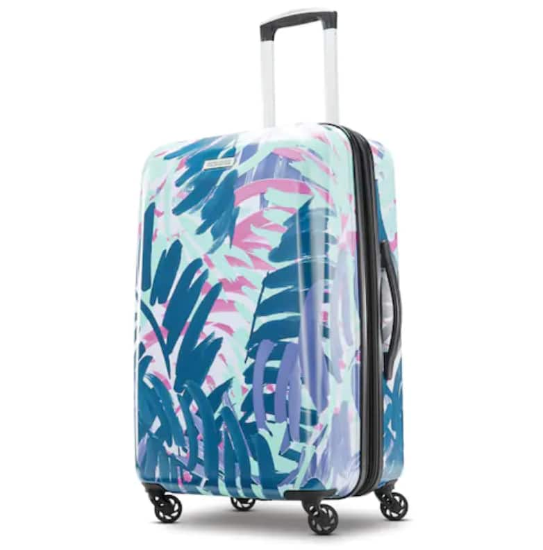 American Tourister Burst Max Printed 28-Inch Hardside Spinner Luggage For Only $50.99 plus $15 in Kohl's Cash!