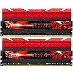 G.SKILL TridentX 16GB (2 x 8GB) 240-Pin DDR3 SDRAM DDR3 2400 (PC3 19200) F3-2400C10D-16GTX - $114.99 & Free Shipping