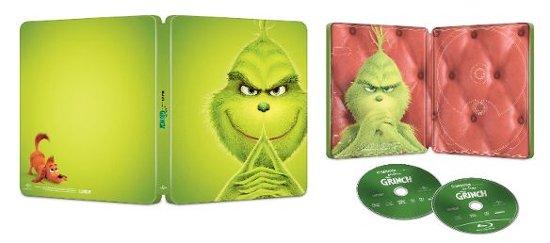 BestBuy: Grinch (DVD / Blu-Ray / Digital) Steelbook or Regular (in-store pickup) $11.99