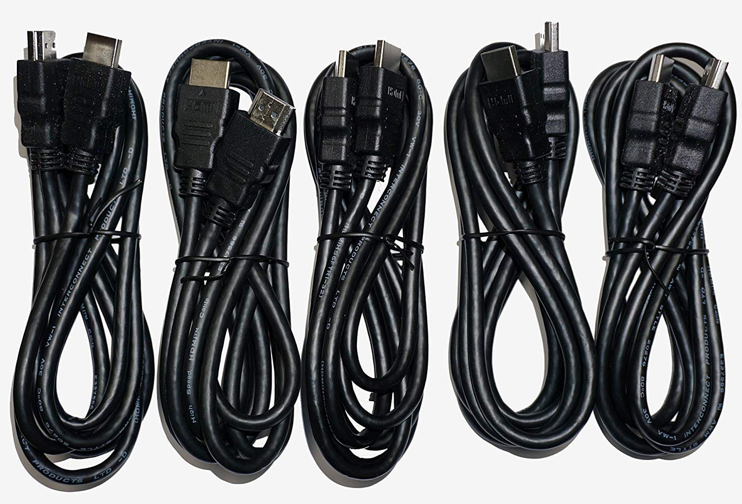 Amazon Fulfilled: 5 Pack - DirecTV Universal High Speed 6FT HDMI Cable & free shipping $7.07
