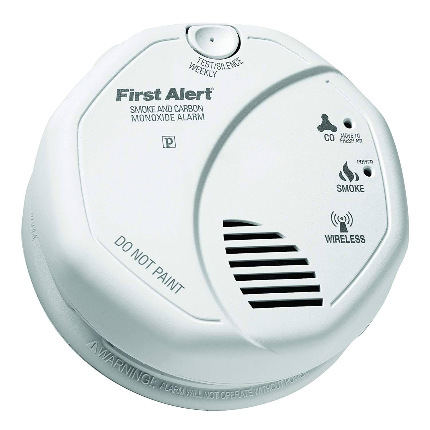 First Alert 2-in-1 Smoke and Carbon Monoxide Alarms Z-Wave $33.73
