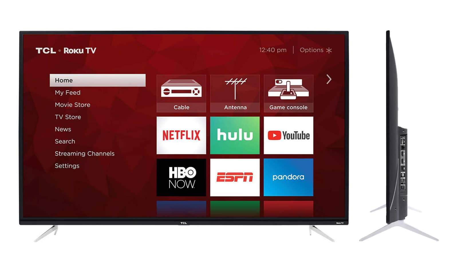 "TCL 43 "" Class 4-Series 4K UHD HDR Roku Smart TV - 43S423 (Refurbished) $189.99 + Free Shipping"