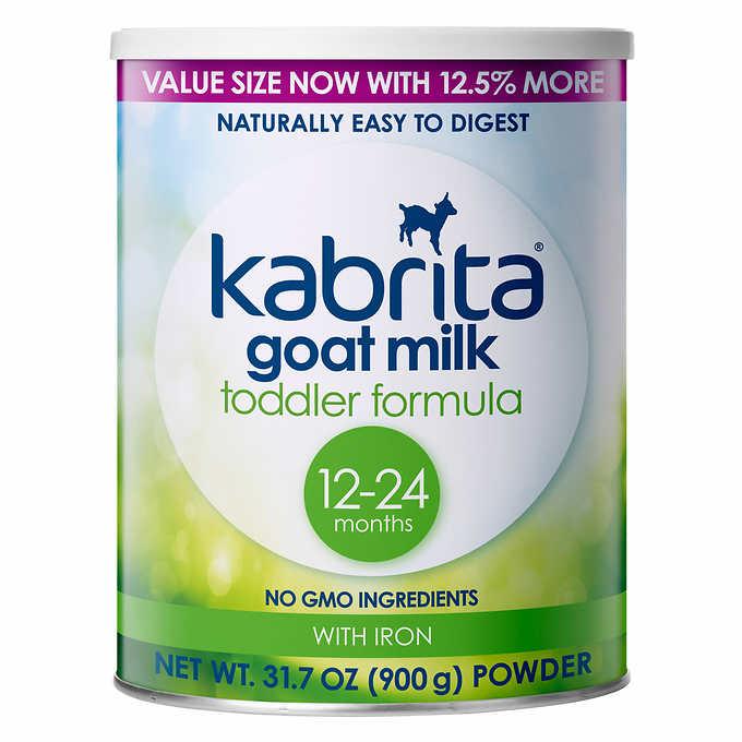 Kabrita Goat Milk Toddler Formula 900g - Non GMO $27.99 - Free S&H