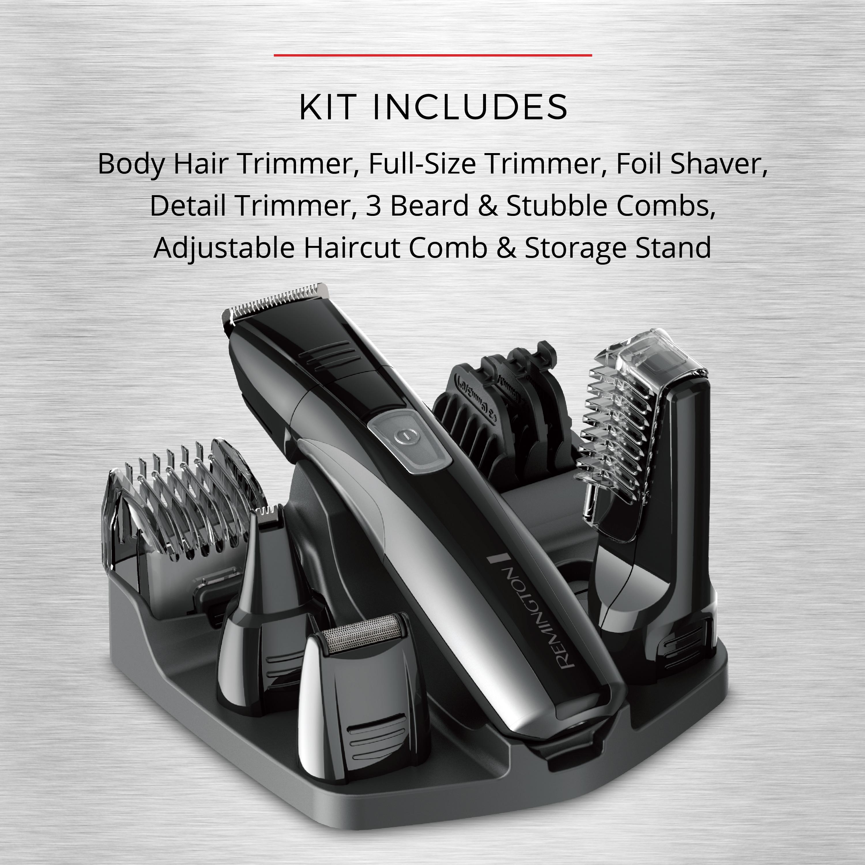 Remington PG525 Head to Toe Lithium Powered Body Groomer Kit $15
