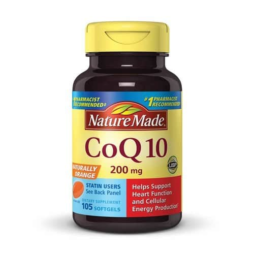 Nature Made CoQ10 (Coenzyme Q 10) Softgel, 105 count $20.87