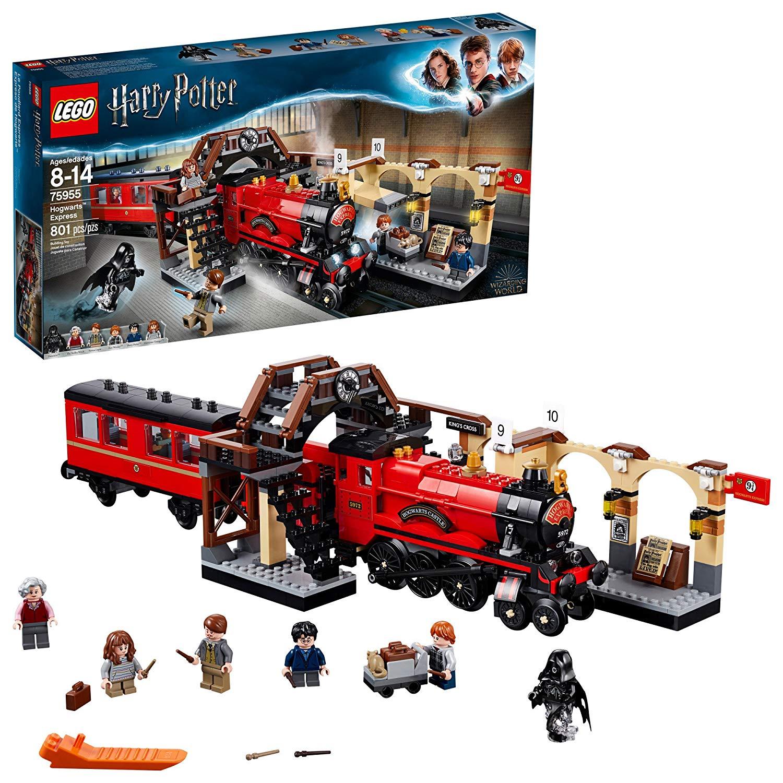 LEGO Harry Potter Hogwarts Express 75955 Building Kit (801 Pieces) $63.95