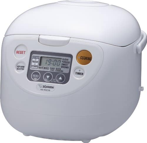 Zojirushi NS-WAC18-WD 10-Cup (Uncooked) Micom Rice Cooker and Warmer $98.97