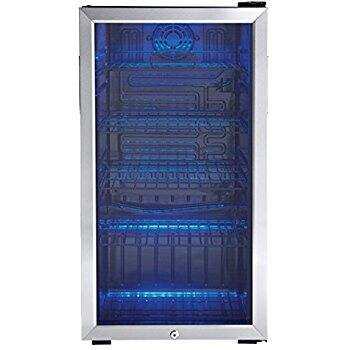 Amazon Danby 120 Can Beverage Center, Stainless Steel DBC120BLS  $185.99