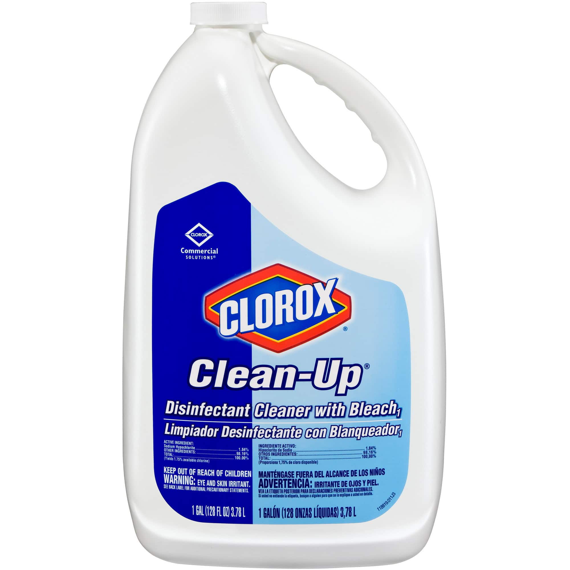 Clorox Commercial Solutions Clorox Clean-Up All Purpose Cleaner with Bleach - Original, 128 Ounce Refill Bottle (35420) $13.21