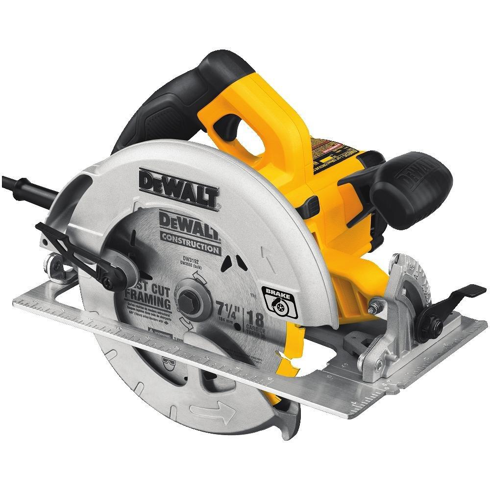 DEWALT 7-1/4-Inch Circular Saw with Electric Brake, 15-Amp (DWE575SB) $99 w/ free S/H
