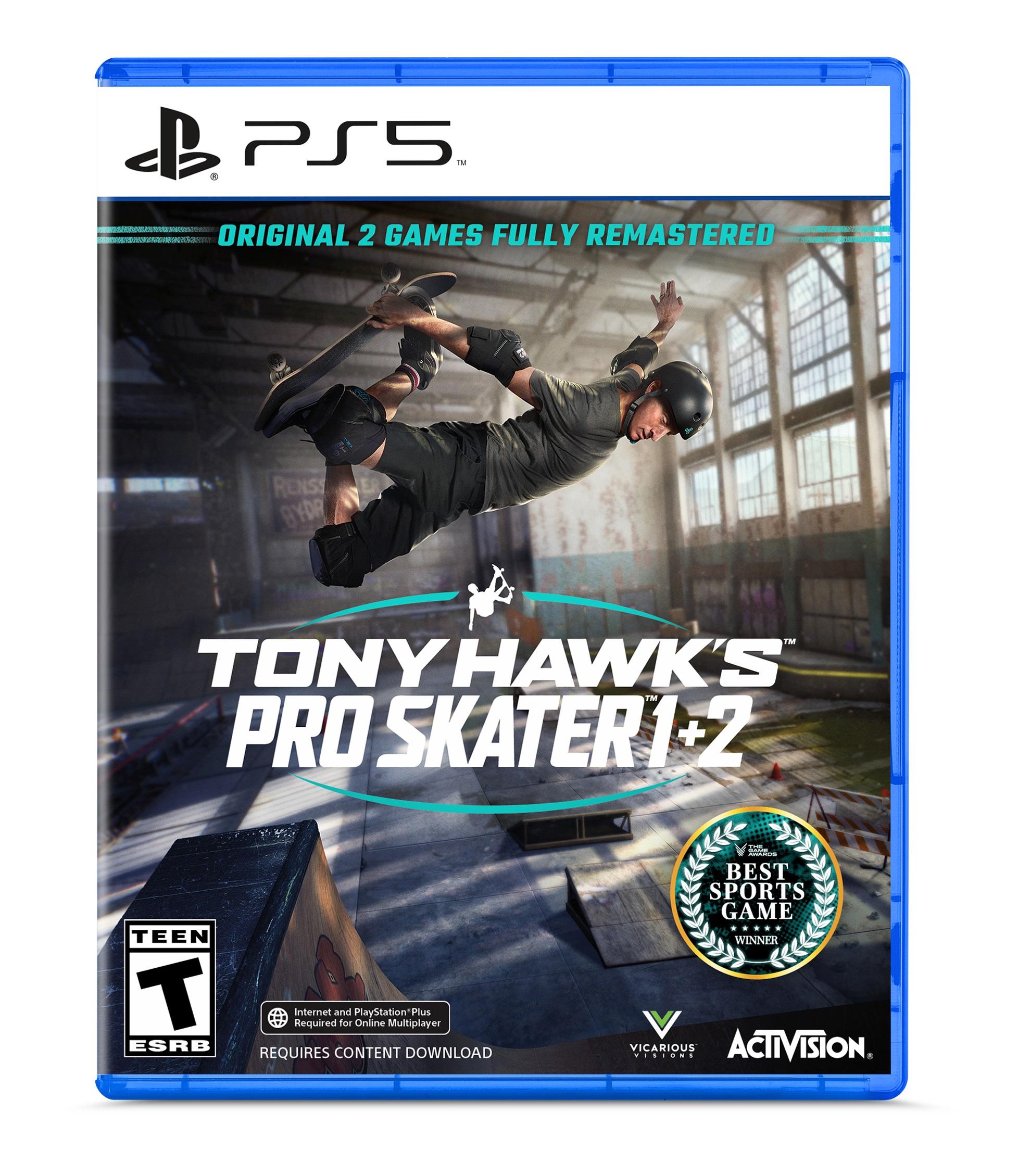 YMMV - Tony Hawk's Pro Skater 1+2 PS5 $25 at Walmart B&M