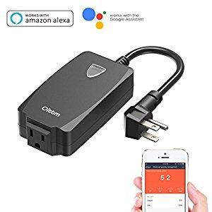 Oittm Outdoor Wifi Smart Plug (Alexa compatible) $22.39 (30% OFF) @ Amazon