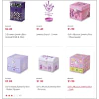 Kmart Deal: Children Jewelry Boxes are 90% off at Kmart