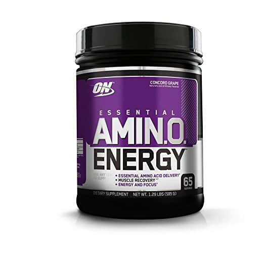 Optimum Nutrition Amino Energy Concord Grape 65 Servings $25.26 from Amazon with S&S